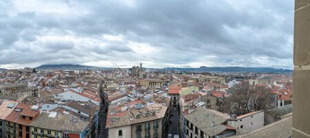 oration: The bell tower of Pamplonas cathedral offers fantastic views of the Old town