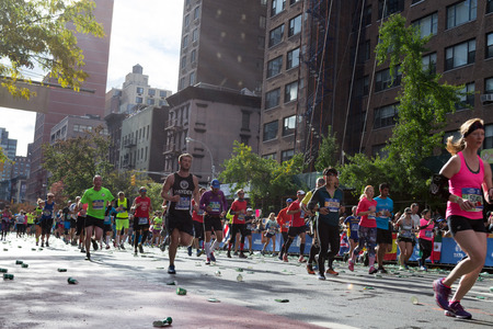 The NYC Marathon is the largest marathon in the world and passes through the 5 boroughs of the city