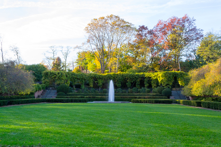 The conservatory Garden was located in central park was open to the public in 1937