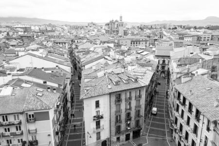 The bell tower of Pamplonas cathedral offers fantastic views of the Old town