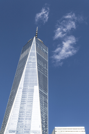 The freedom tower located in Lower Manhattan is the 6th tallest building sin the world (2017).