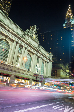 42nd street in Manhattan contains two of the most iconic buildings of NYC, Grand Central Station and the Chrysler building
