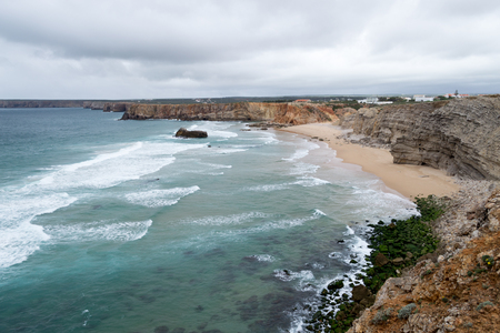 Sagres is located in the Algarve, the most western part of continental Portugal
