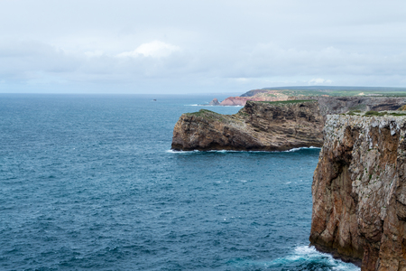 Cabo de Sao Vicente is the South Western tip of Europe