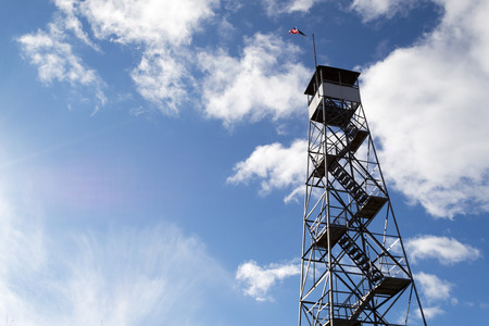 This fire tower in mount Beacon was restored and opened to the public in 2013