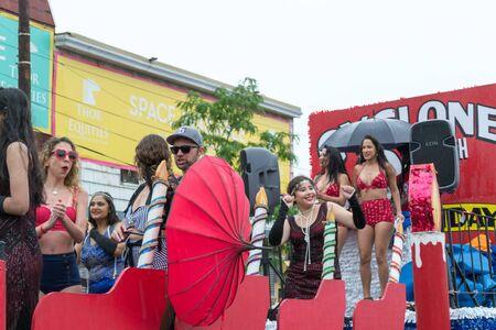 Saturday June 17th,  2017, Coney Island, NYC, USA-Annual Coney Island Mermaid Parade