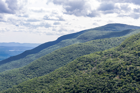 Views during a hike at the Kaaterskill Wild Forest in Upstate NY
