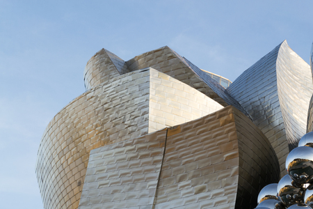 The Guggenheim museum, Inaugurated on October 18,1997, is one of the biggest museums in Spain.