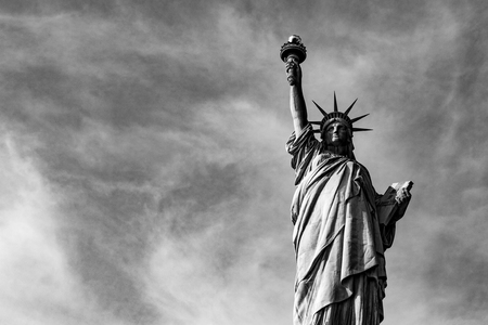 Statue of liberty (dedicated on October 28, 1886) is one of the most famous icons of the USA