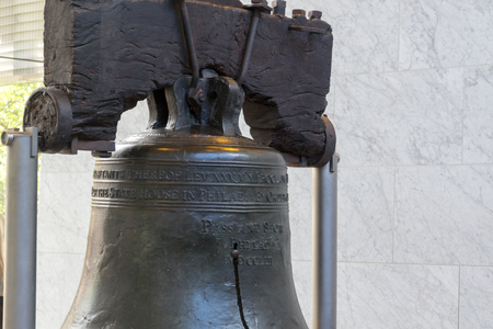 Liberty bell is a symbol of American independence Stock Photo - 109051844
