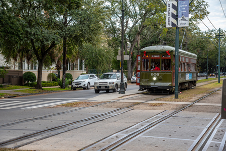 St. Charles streetcar in New Orleans is the oldest working one in the world