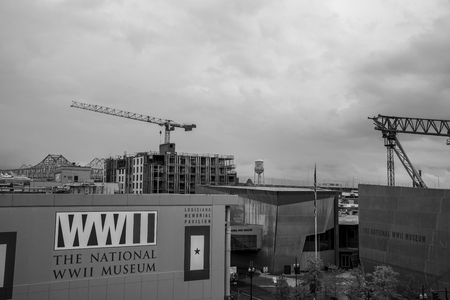 National WWII museum in New Orleans was funded in 2000