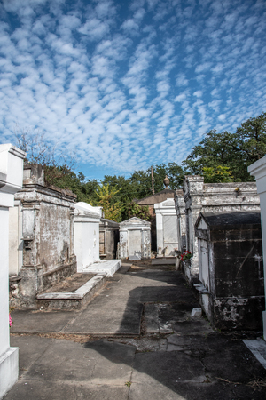 Lafayette cemetery no 1 in New Orleans (USA) was funded in 1833 and still in use Editorial