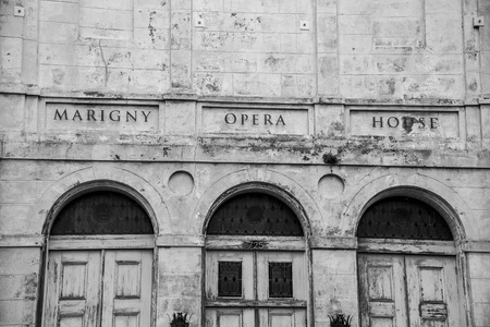 Marigny opera house is a repurposed church reconverted Editorial