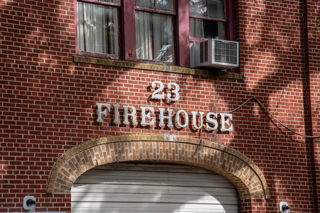 Firehouse across the street from Lafayette cemetery no 1