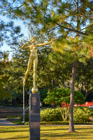 Sydeny and Walda Besthoff sculpture garden in New Orleans Museum of Art (NOMA)