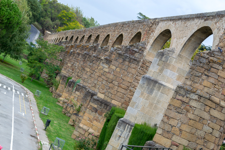 The aqueduct of Plasencia (Spain) was built in the XII century