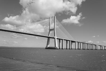 Vasco da Gama Bridge  (Lisbon, Portugal) is the second longest in Europe