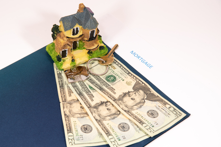Array of objects displayed to represent the preparation needed before applying for a mortgage