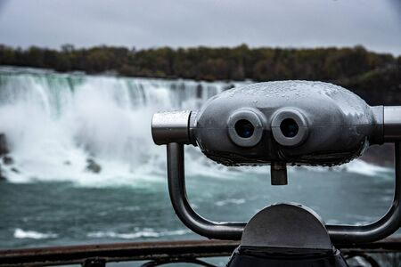 One of the many tower viewers in the area surrounding Niagara falls