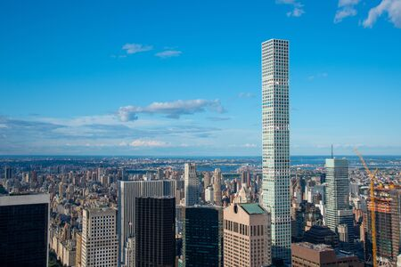 432 Park Avenue in NYC is the tallest residential building in the world 스톡 콘텐츠