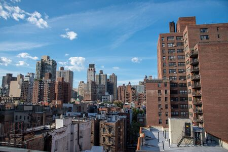 Looking North from a roof top terrace at 81st street and 2nd avenue NYC