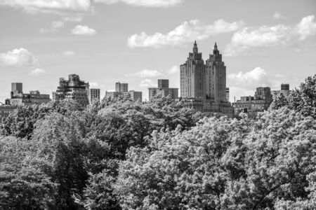 The Metropolitan Museum located in central park offers great views of Central Park during the summer months