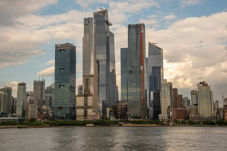 Hudson Yards, a new real estate development in the West of Manhattan