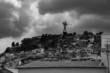 Virgin of Quito is an sculpture located in Quito (Ecuador) from 1734