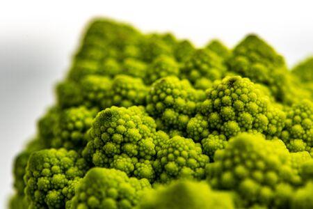 Romanesco cauliflower is an edible flower originated in Italy
