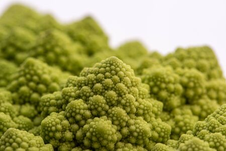 Romanesco cauliflower is an edible flower originated in Italy