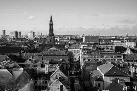 Views of Copenhagen from the top of the Round Tower