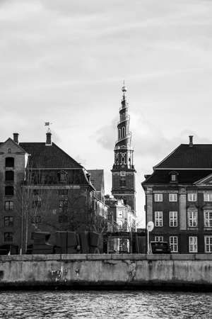 Views of the Church of our Saviour in Copenhagen (DK)