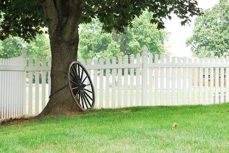 chainlinked: keten gekoppeld wiel Stockfoto