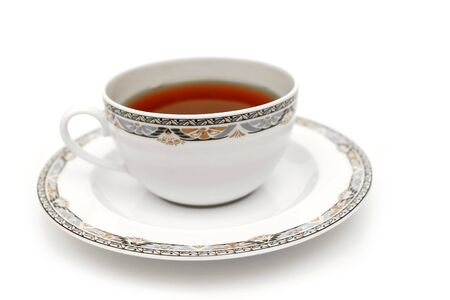 A cup of fresh brewed hot tea