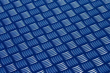 Aluminum anti slip surface Stock Photo
