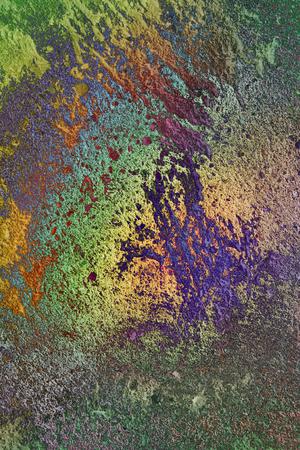 Colored concrete texture