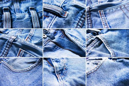 umyty: Szczegóły kamienia myte niebieski dżins