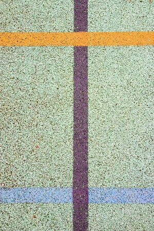 demarcation: Marking on a sport field