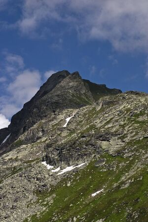 Mountain in the alps