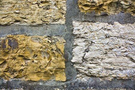 Old brick-wall Stock Photo