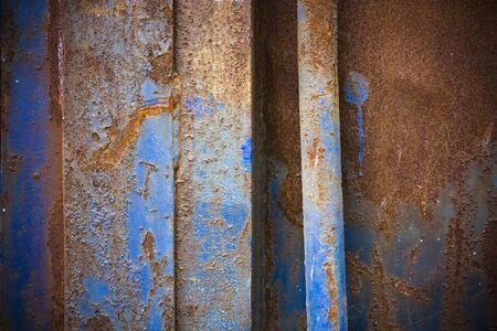 Rusty old grunge metallic surface