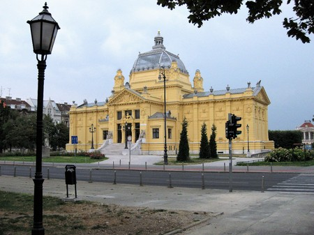 National Theatre, Zagreb, Croatia. It is the oldest and major Opera and theater scene, a significant cultural center of the country.