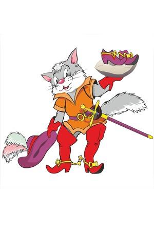Cat, der gestiefelte Kater Standard-Bild - 25658161