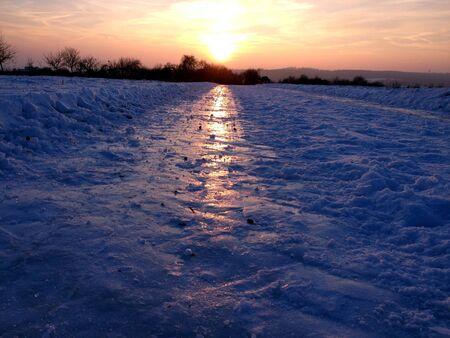 Winterzeit Stock Photo