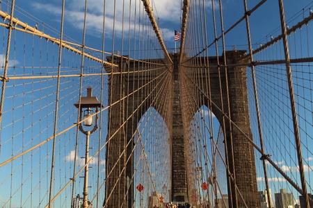 The Brooklin Bridge in New York