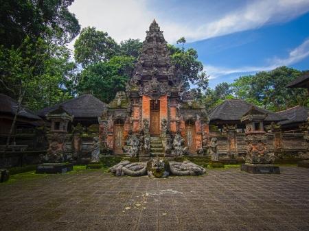 ウブド、バリ島 Padangtegal モンキー フォレスト寺