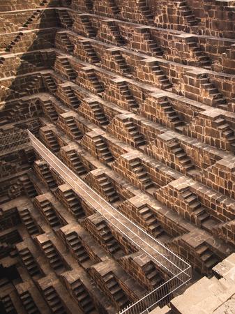 chand: The Chand Baori Stepwell in Abhaneri, Rajasthan, India
