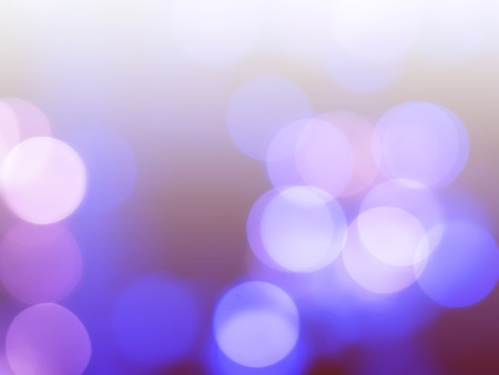 Abstract Cheerful Bokeh Background with Defocused Lights