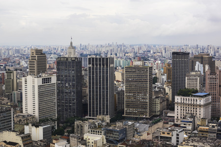 Sao Paulo Cityscape, Brazil photo